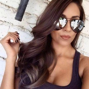 Ray Ban Aviator RB3026 Silver Mirrored Lens